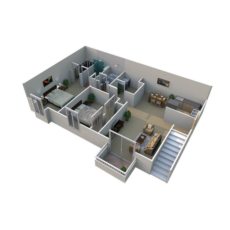 pilgrim-village-apartments-for-rent-in-canton-mi-floor-plan-2