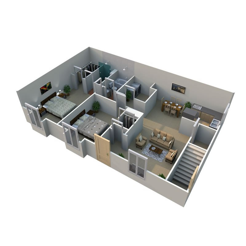pilgrim-village-apartments-for-rent-in-canton-mi-floor-plan-4