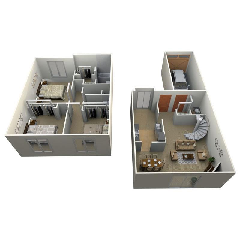 pilgrim-village-apartments-for-rent-in-canton-mi-floor-plan-9
